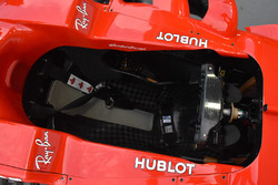 Ferrari SF70H cockpit detail