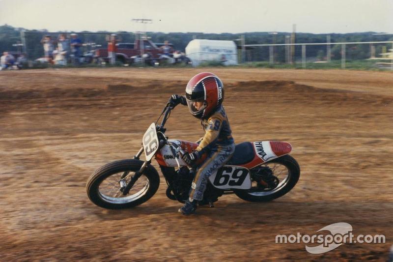 Nicky Hayden en dirt track