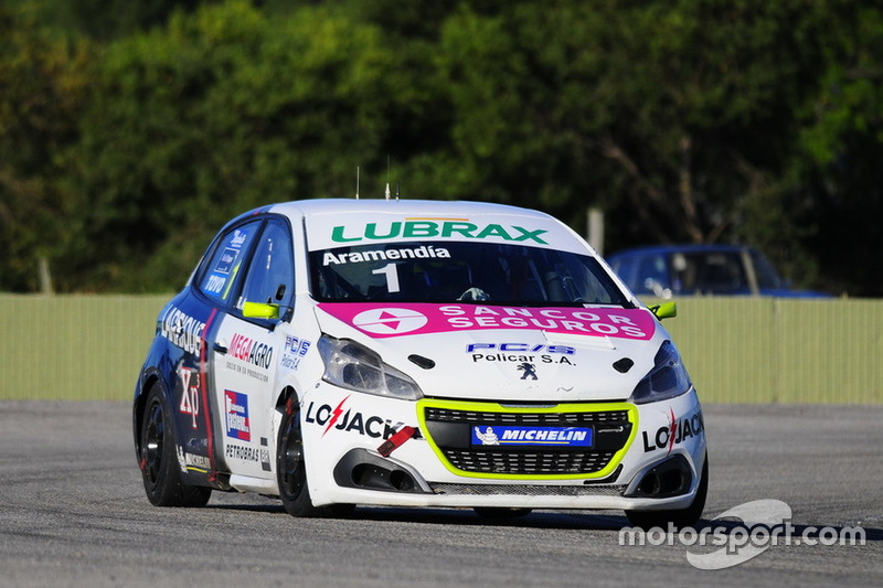 Rodrigo Aramendía, Peugeot Petrobras