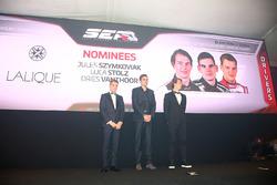 Sean Edwards Trophy nominees, Jules Szymkowiak, Luca Stolz, Dries Vanthoor
