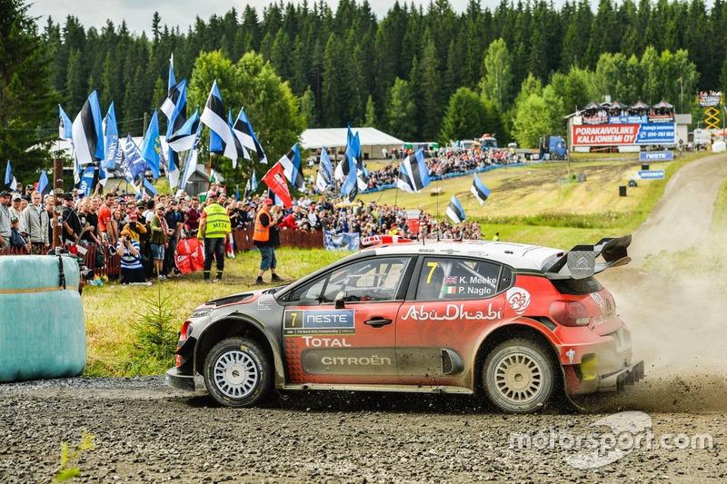Kris Meeke, Citroen C3 WRC 2017