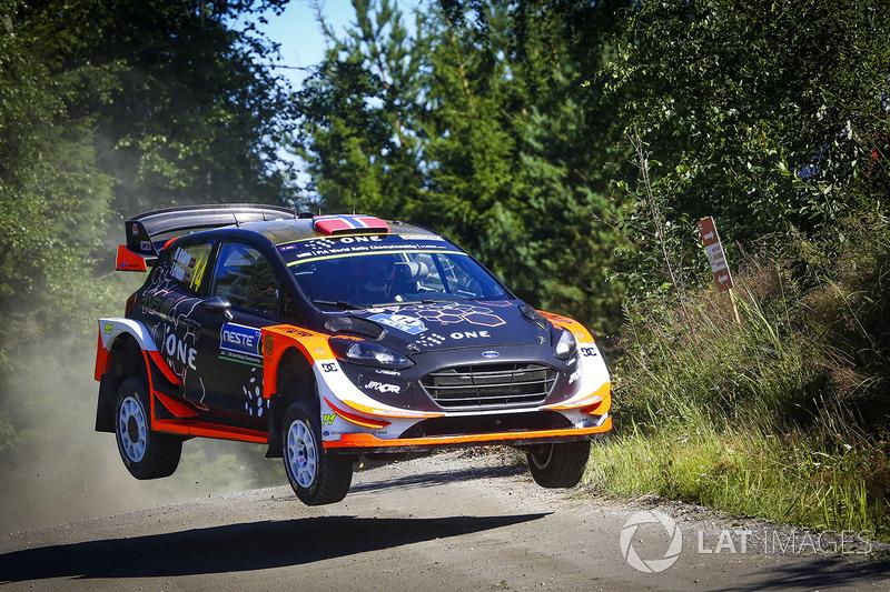Mads Ostberg, Torstein Eriksen, Ford Fiesta WRC