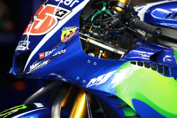 Yamaha fairing on the bike of Maverick Viñales, Yamaha Factory Racing