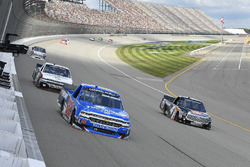 Stewart Friesen, Elaine Larsen Motorsports Chevrolet, Christopher Bell, Kyle Busch Motorsports Toyot