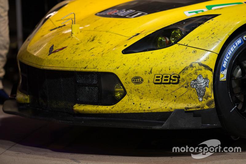 Detalle del Corvette Racing