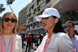 Carmen Jorda, Renault Sport F1 Team Development Driver  and Adriana Lima, Model