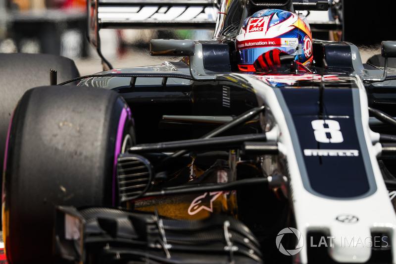 8e : Romain Grosjean (Haas F1)