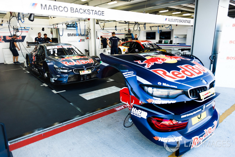 Coche de Marco Wittmann, BMW Team RMG, BMW M4 DTM