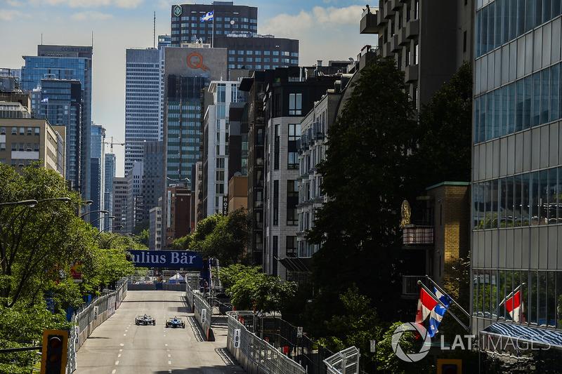 Nicolas Prost, Renault e.Dams y Robin Frijns, Amlin Andretti Formula E Team
