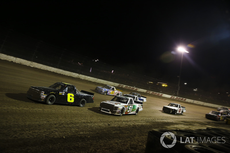 Norm Benning, Norm Benning Racing Chevrolet, Harrison Burton, Kyle Busch Motorsports Toyota