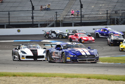 #41 TA Chevrolet Camaro, Vinnie Allegretta, TA Sights & Sounds, #98 TA Ford Mustang, Ernie Francis Jr., Breathless Pro Racing
