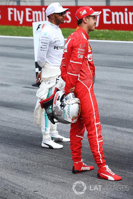 Льюіс Хемілтон, Mercedes AMG F1, Себастьян Феттель, Ferrari,