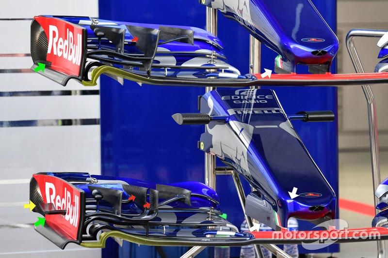 Scuderia Toro Rosso STR12 nosecones