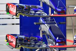 Toro Rosso STR12: Nasen und Frontflügel
