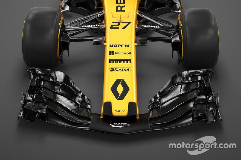 雷诺RS17赛车细节