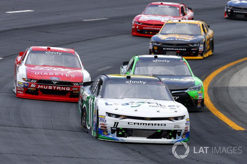 Blake Koch, Kaulig Racing Chevrolet, Dakoda Armstrong, JGL Racing Toyota, Ryan Reed, Roush Fenway Racing Ford