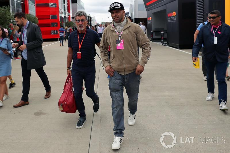 Солді і Едді Джордан, Channel 4 F1 TV