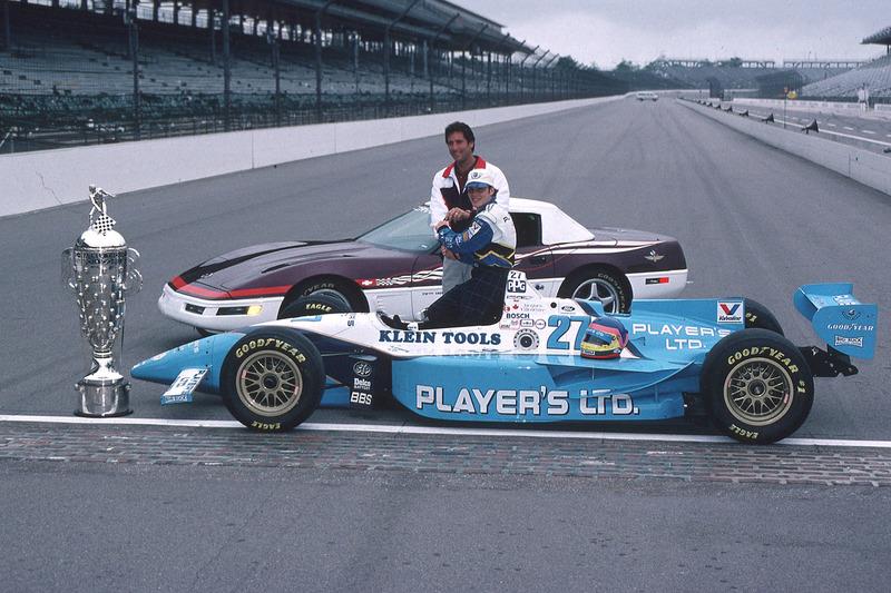 Jacques Villeneuve met Tony George