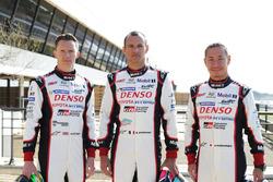 Toyota Racing: Mike Conway, Stephane Sarrazin y Kamui Kobayashi