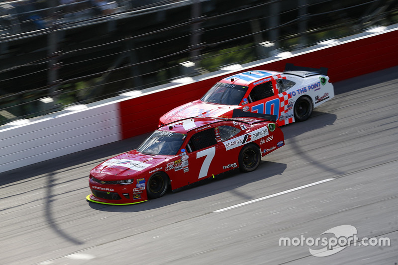 Justin Allgaier, JR Motorsports Chevrolet, Derrike Cope, Chevrolet