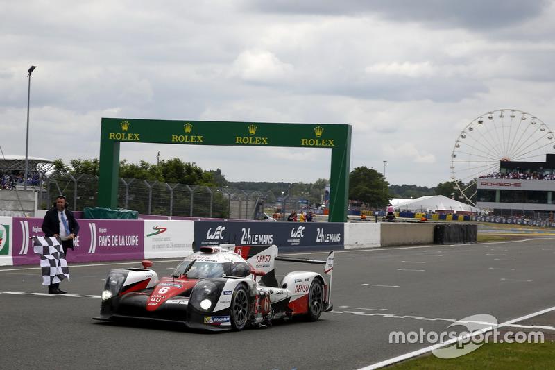 2e: #6 Toyota Racing Toyota TS050 Hybrid: Stéphane Sarrazin, Mike Conway, Kamui Kobayashi