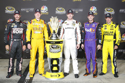 Toyota Chase drivers: Martin Truex Jr., Furniture Row Racing, Kyle Busch, Joe Gibbs Racing, Carl Edw