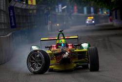 Crash, Lucas di Grassi, ABT Schaeffler Audi Sport