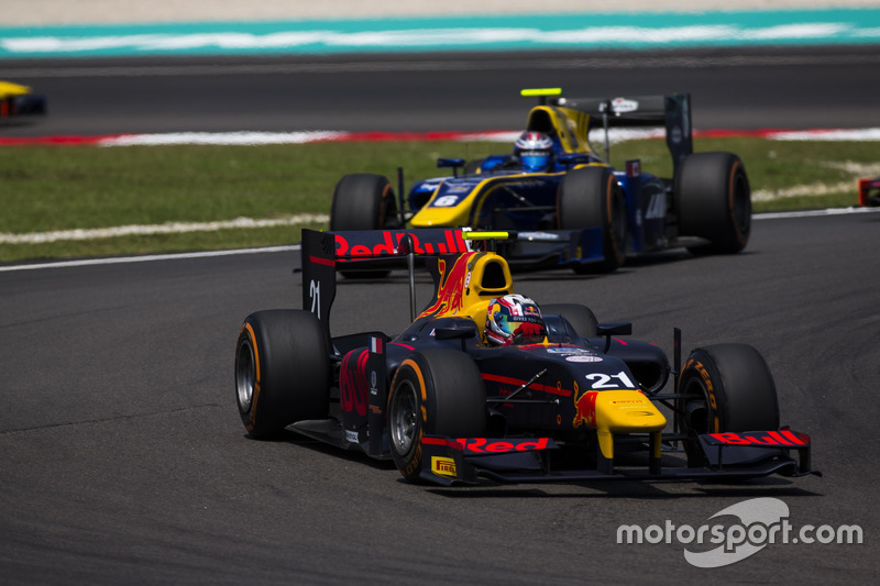 Pierre Gasly, PREMA Racing y Nicholas Latifi, DAMS