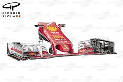 Ferrari SF16-H new nose, Malaysian GP