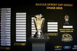 Trofeo de campeón de la serie NASCAR Sprint Cup