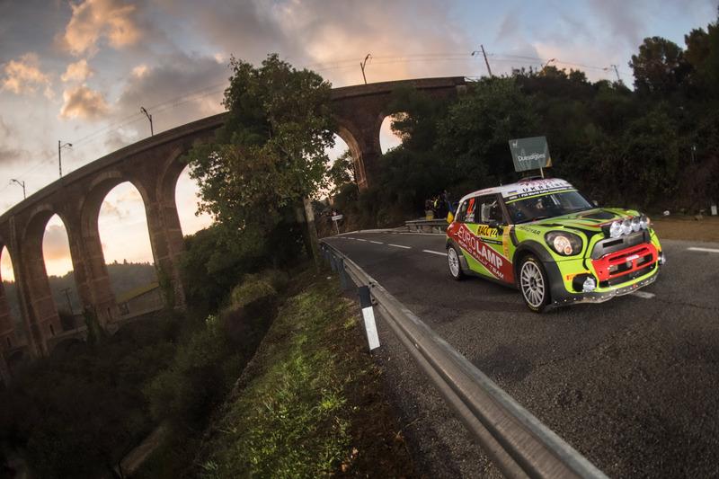 Valeriy Gorban, Volodymyr Korsia, Eurolamp World Rally Team, BMW-Mini Countryman WRC