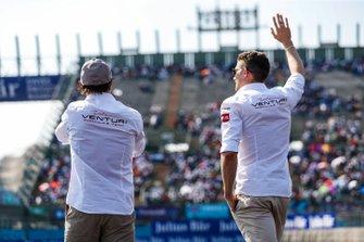 Felipe Massa, Venturi Formula E, Venturi VFE05 and Edoardo Mortara Venturi Formula E, Venturi VFE05