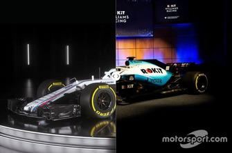 Порівняння Williams FW41 проти FW42