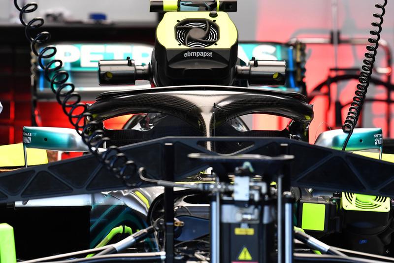 Halo на Mercedes F1 W09