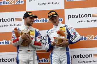Podium: #1 Callaway Competition Corvette C7 GT3-R: Marvin Kirchhöfer, Daniel Keilwitz