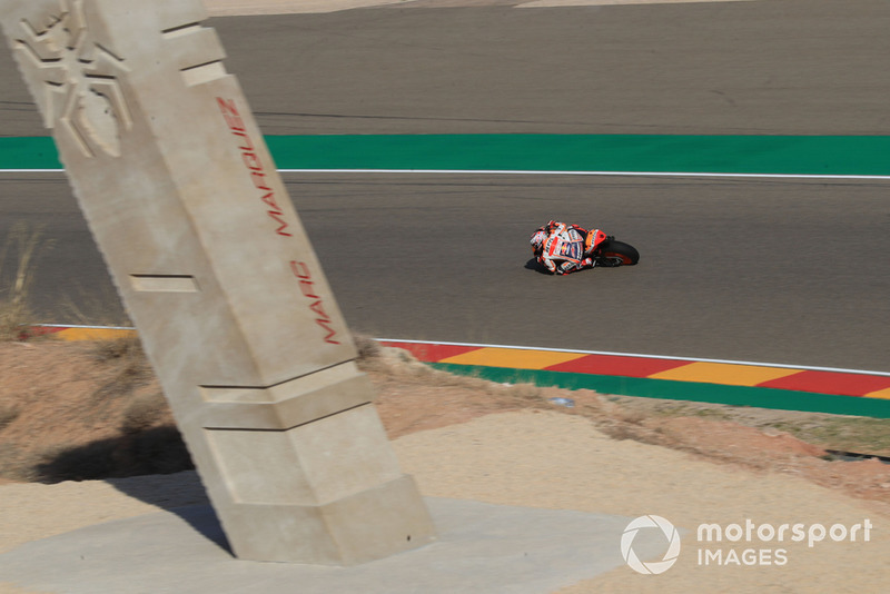 Марк Маркес, Repsol Honda Team, поворот Маркеса