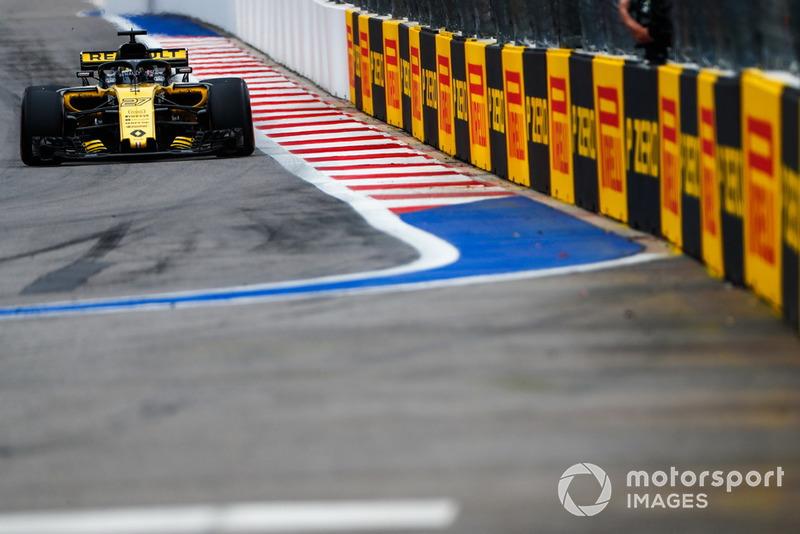 12: Ніко Хюлькенберг, Renault Sport F1 Team R.S. 18, без часу