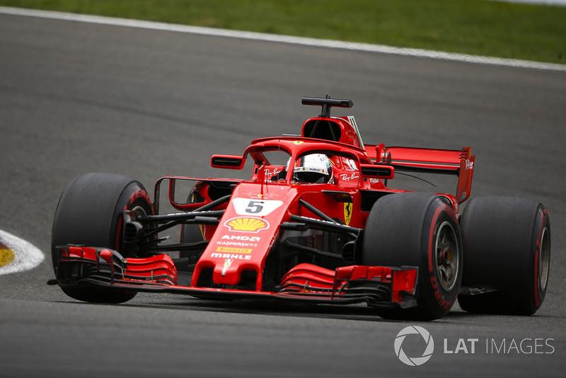 GP de Bélgica: Sebastian Vettel (Ganó la carrera)
