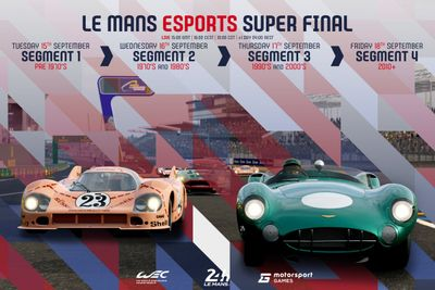 Le Mans Esports announcement