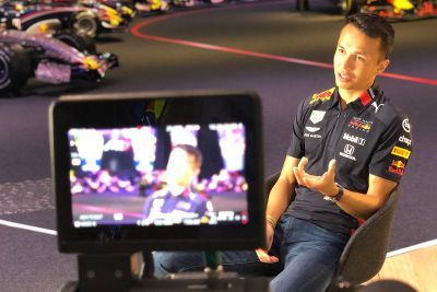 Albon Red Bull Racing duyurusu