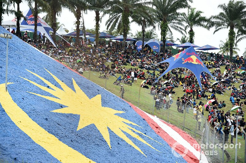 MotoGP Fans at Sepang International Circuit, Malaysia