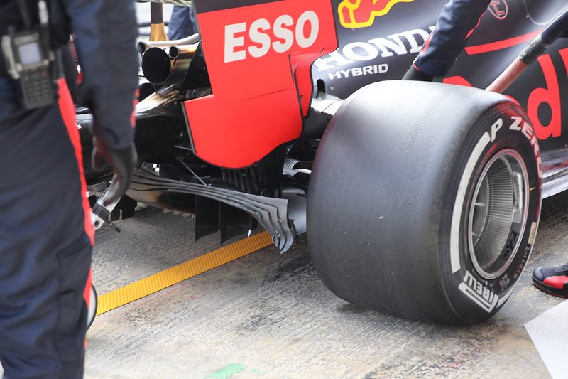 Red Bull Racing RB16 rear