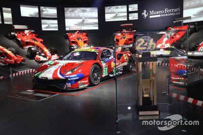 24h Le Mans en el Museo Ferrari