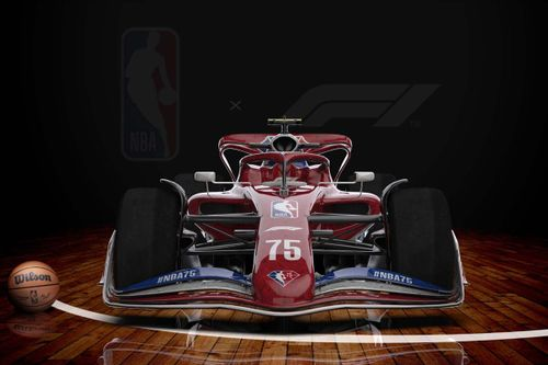 collaboration NBA & F1