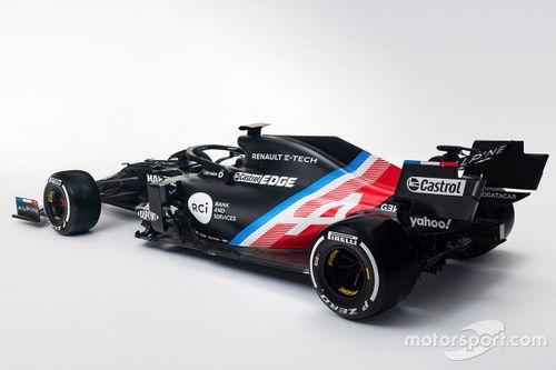 Livrea Alpine F1