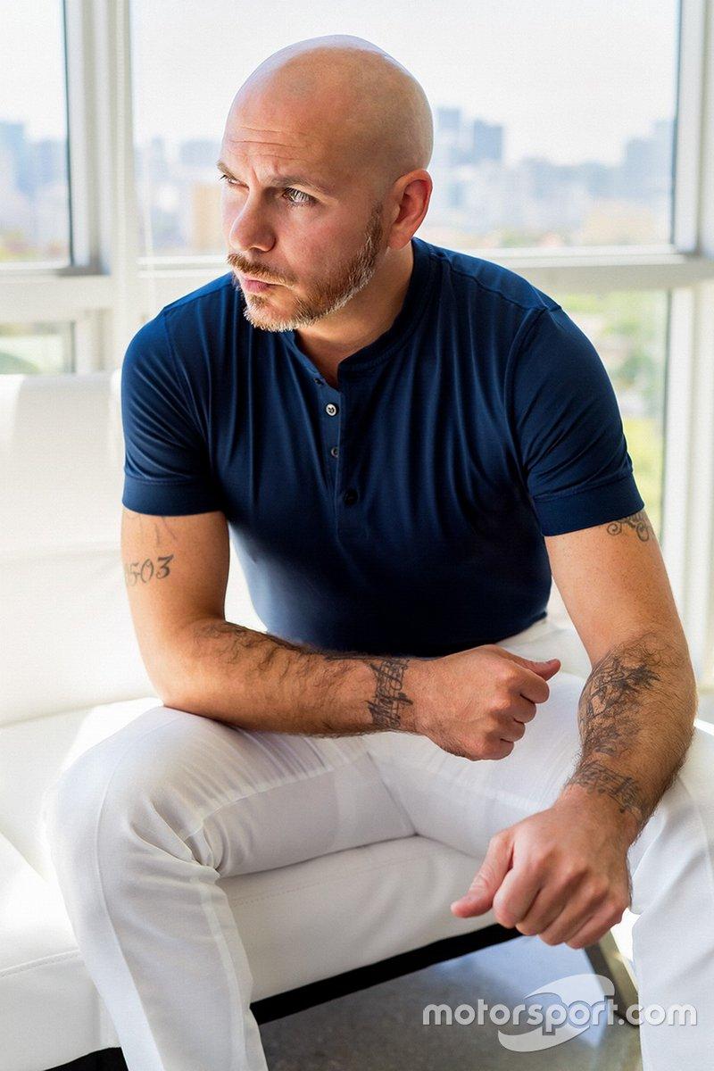Pitbull, copropietario de Trackhouse Racing Team