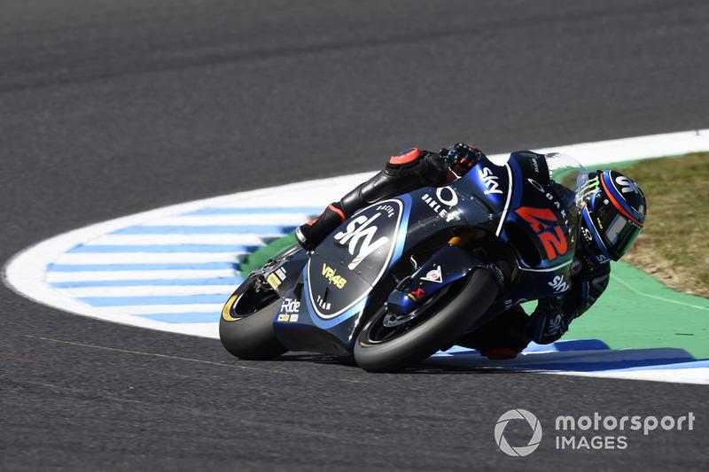 Moto2 Jepang: Kualifikasi 1, finis 1