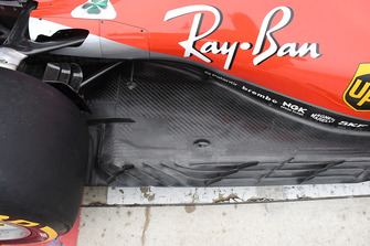 Ferrari SF71H barge boards