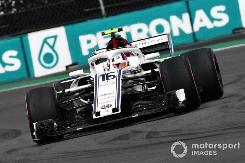 Charles Leclerc - Sauber: 9 puan
