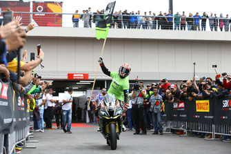 Переможець гонки Джонатан Рей, Kawasaki Racing